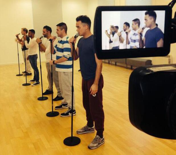 The Big Reunion's 5th Story start rehearsals - 8 January 2014