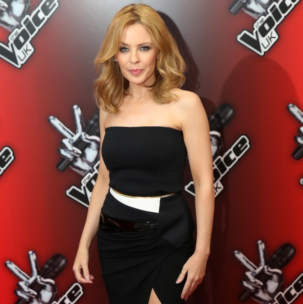 Kylie Minogue at he Voice U.K. Red Carpet Launch - Arrivals. 6 January 2014