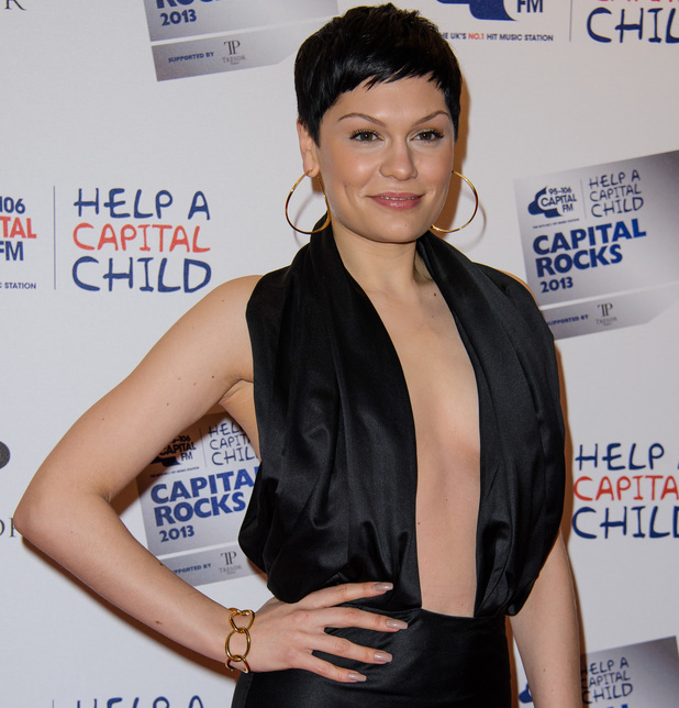 Jessie J at the Capital Rocks 2013 Fundraiser at the Roundhouse - Arrivals 11/28/2013. London, United Kingdom.