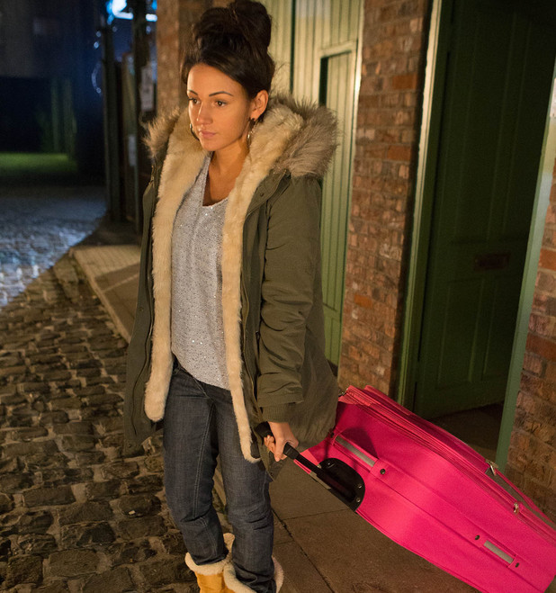 Corrie, Tina leaves, Wed 8 Jan