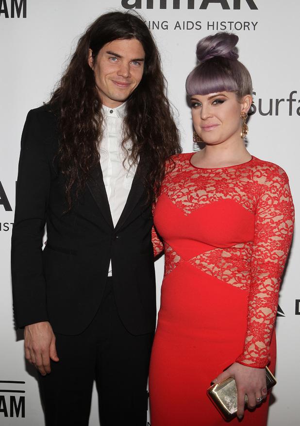 Matthew Mosshart and Kelly Osbourne at the 2013 amfAR Inspiration Gala Los Angeles Presented By MAC Viva Glam At Milk Studios 12/13/2013 Los Angeles, United States