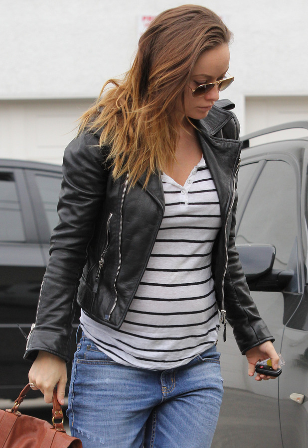 Olivia Wilde out and about, West Hollywood, Los Angeles, America - 07 Jan 2014