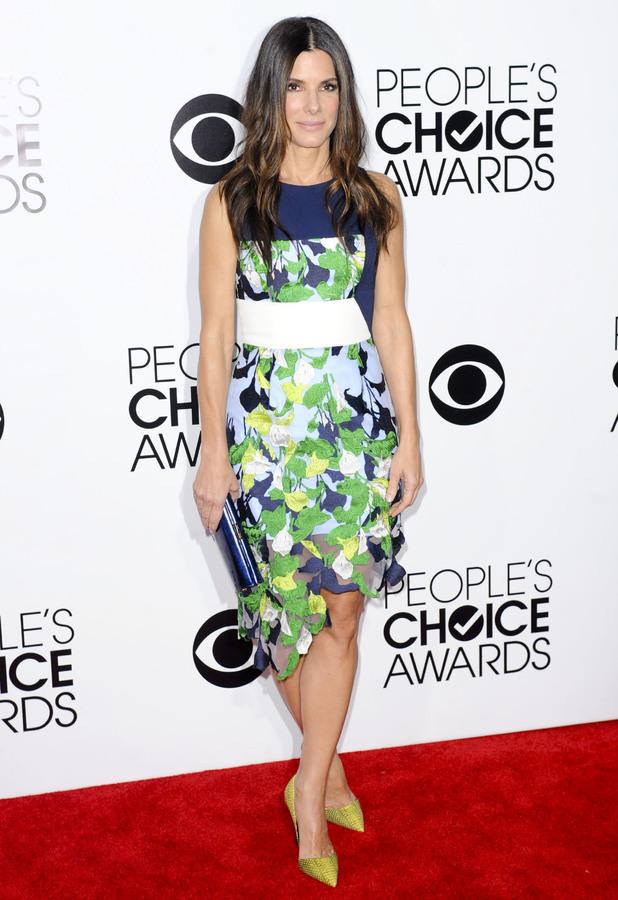 Sandra Bullock at People's Choice Awards in Los Angeles, 8 January 2014