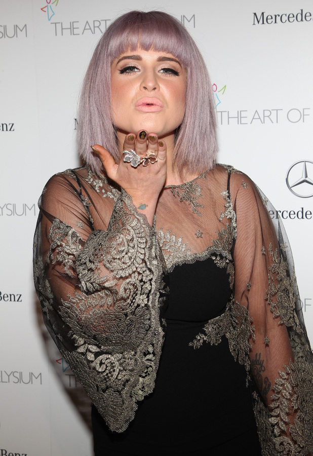 Kelly Osbourne attends The Art of Elysium's 7th Annual HEAVEN Gala presented by Mercedes-Benz at Guerin Pavilion at the Skirball Cultural Center, 11 January 2014