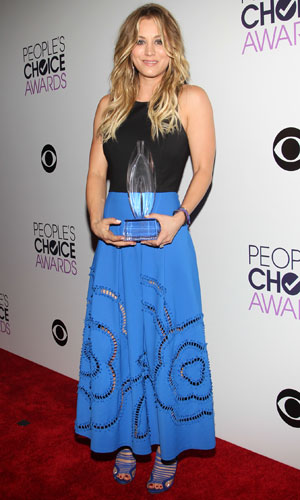 Kaley Cuoco at the People's Choice Awards 2014, held in Los Angeles, 8 January 2014