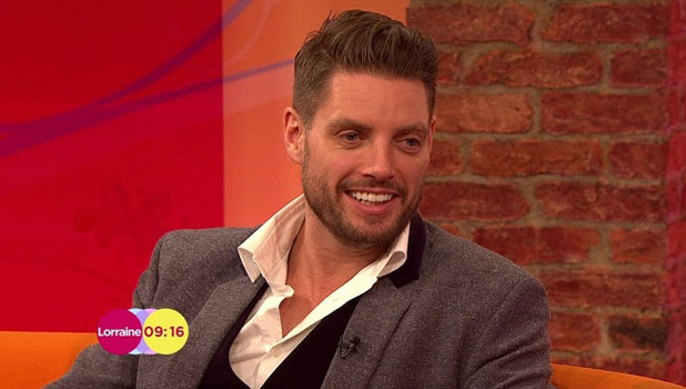 Keith Duffy appears on Lorraine to talk about Splash!, ITV, London, 9 January 2014