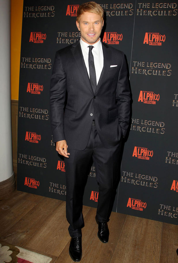 Kellan Lutz, 'The Legend of Hercules' film premiere, New York, America - 06 Jan 2014