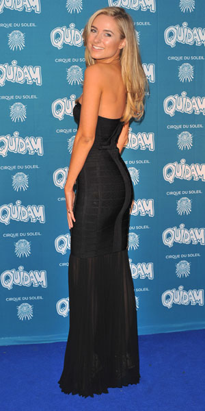 Kimberley Garner, Cirque du Soleil 30th anniversary performance of Quidam held at the Royal Albert Hall - Arrivals, 7 January 2013