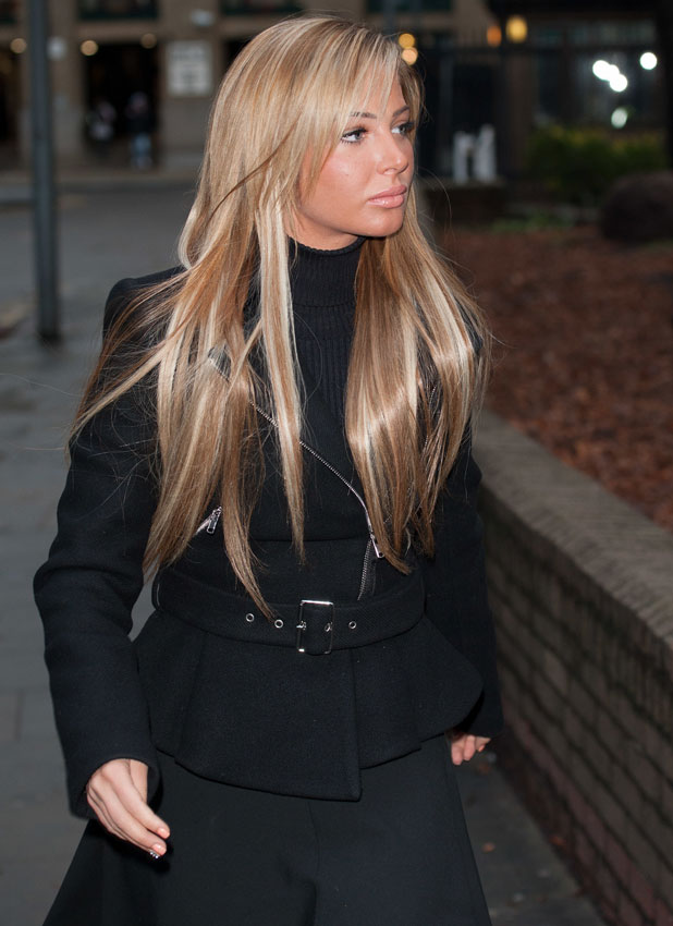 Tulisa Contostavlos appears at Southwark Crown Court charged with being concerned in the supply of Class A drugs. She has denied the charge. 9 January 2014