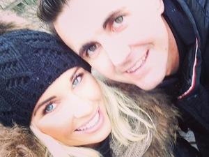 Pregnant TOWIE star Billie Faiers enjoys romantic Paris trip with boyfriend Greg Shepherd - 16 January 2014