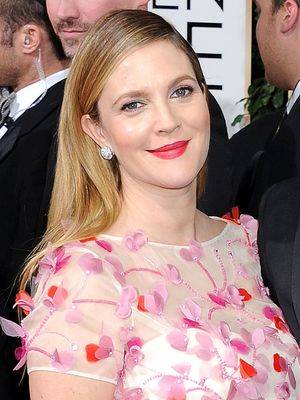 Drew Barrymore, 71st Annual Golden Globe Awards, Arrivals, Los Angeles, America - 12 Jan 2014