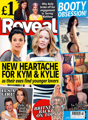 Reveal Magazine cover, week two, 2014