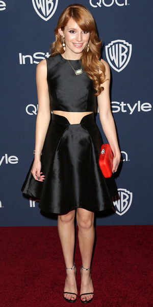 Bella Thorne - Warner Bros and InStyle Golden Globe Awards afterparty in Los Angeles - 12 January 2014