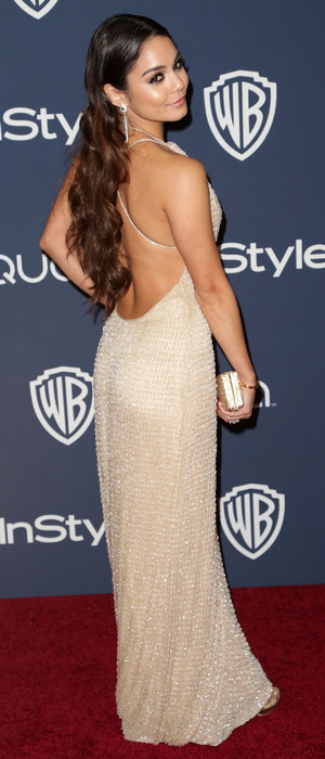 Vanessa Hudgens, Austin Butler - 71st Annual Golden Globe Awards Warner Bros and InStyle After Party in Los Angeles, America - 12 January 2014