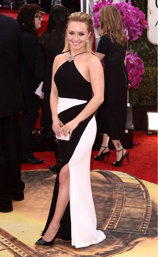 Hayden Panettiere, 71st Annual Golden Globe Awards, Arrivals, Los Angeles, America - 12 Jan 2014