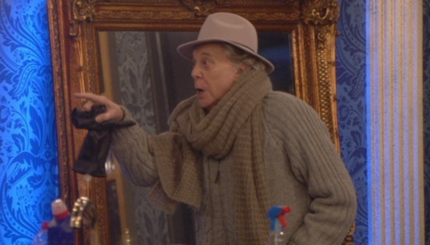 Celebrity Big Brother - Lionel Blair has blazing row with Luisa Zissman (Wednesday 15 January).