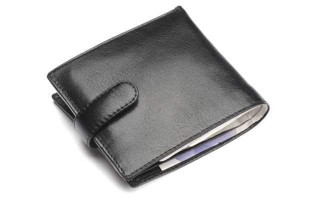 VARIOUS A Black Leather Wallet, Closed 2012