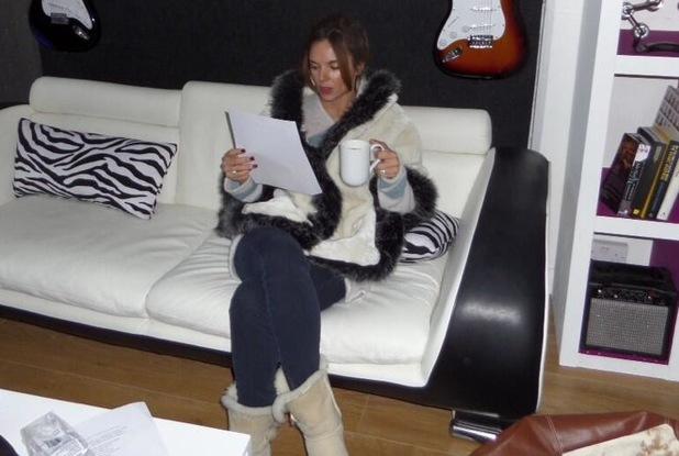 Big Reunion's Jodi Albert in rehearsals - 14 January 2014