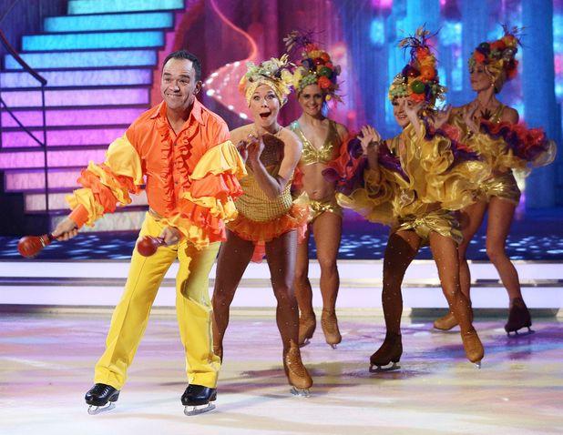 'Dancing on Ice' TV show, Elstree Studios, Hertfordshire, Britain - 12 Jan 2014 Todd Carty and Alexandra Schauman