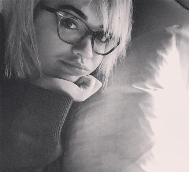 Rita Ora poses in a pair of glasses - 14.1.2014