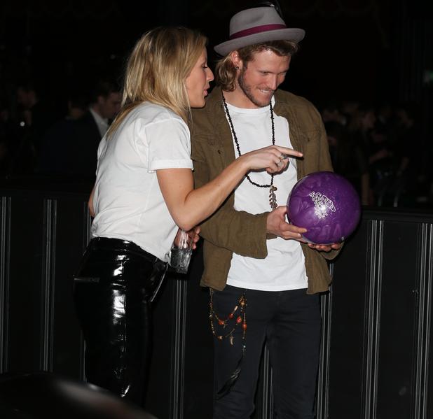 Brooklyn Bowl launch at 02 Arena, London, Britain - 16 Jan 2014 Ellie Goulding, Dougie Poynter