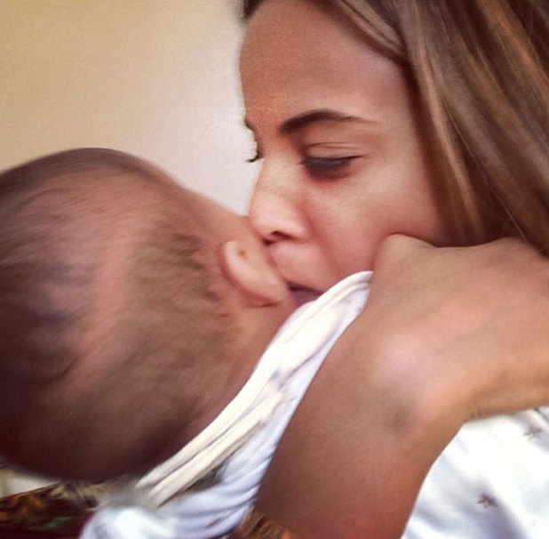 Rochelle Humes shares picture of herself and daughter Alaia-Mai, 12 January 2014