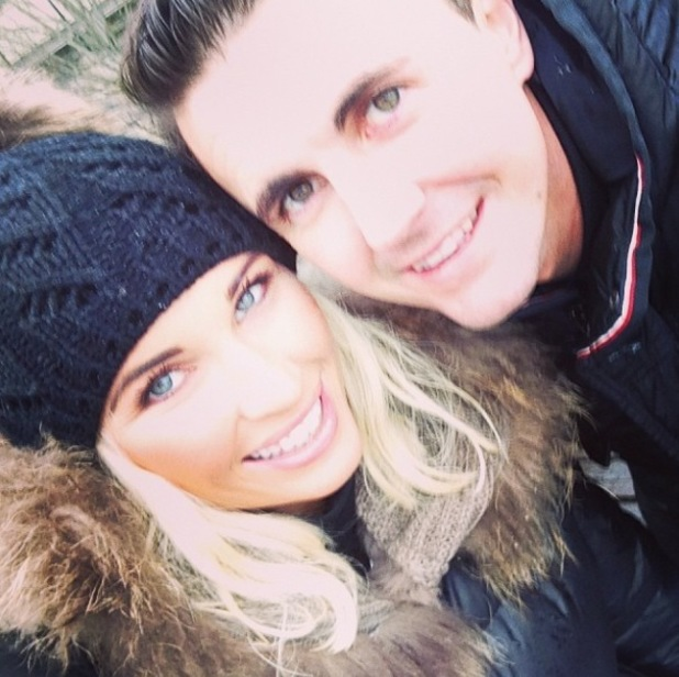 Pregnant TOWIE star Billie Faiers enjoys romantic Paris trip with boyfriend Greg Shepherd - 16 January 2014