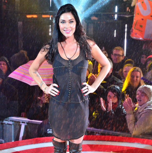 Celebrity Big Brother - Jasmine Waltz is evicted from the house. (15 January 2014).
