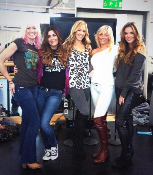 Big Reunion 2014 - first group rehearsals - Girl Thing