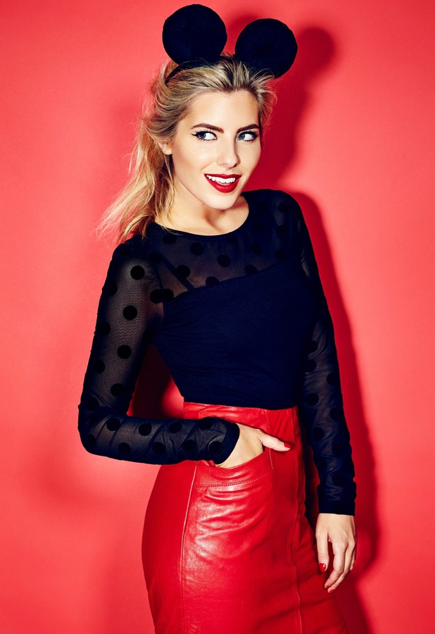Mollie King fronts the Ramp up the Red fundraising campaign for the British Heart Foundation - January 2014