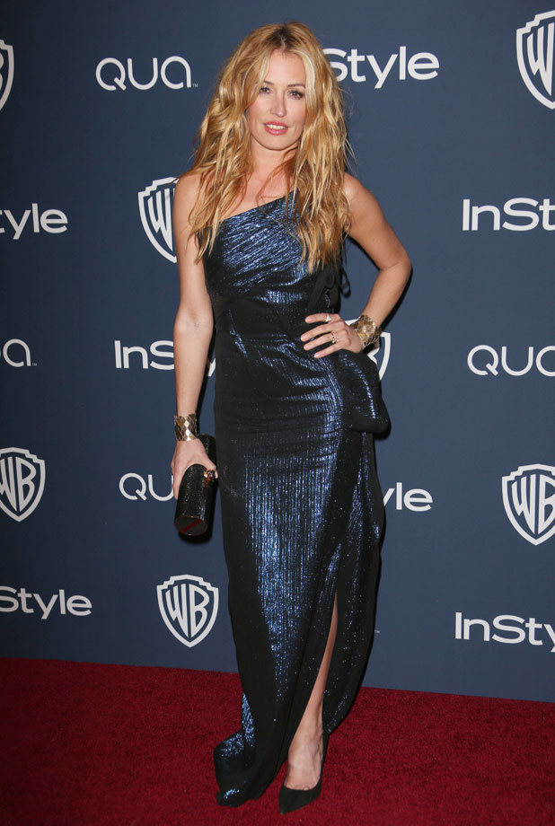 Cat Deeley, 71st Annual Golden Globe Awards, Warner Bros and InStyle After Party, Los Angeles, America - 12 Jan 2014