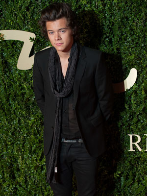 Harry Styles, The 2013 British Fashion Awards held at the Coliseum - Arrivals, December 2013