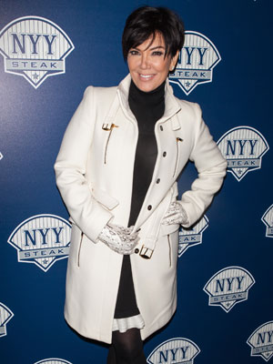 Kris Jenner at NYY Steak Manhattan's Grand Opening, January 2014
