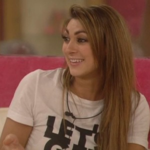 Celebrity Big Brother - aired 23 January 2014. Luisa Zissman argues with Ollie