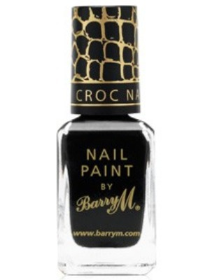 Barry M Croc Nail Effects in Black