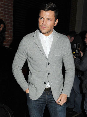 Mark Wright and Michelle Keegan at the Libertine night club, London, Britain - 22 Jan 2014