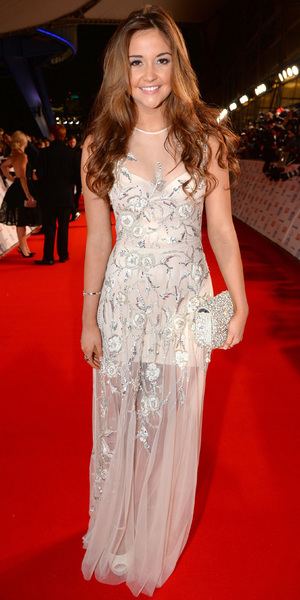 National Television Awards, The O2, London, Britain - 22 Jan 2014 Jacqueline Jossa