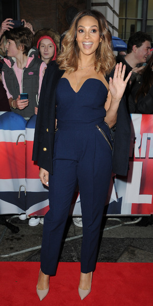 Alesha Dixon at Britain's Got Talent auditions on 18 January 2014