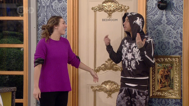 Luisa Zissman attempts to make Dappy rap in secret task - 20 January 2014
