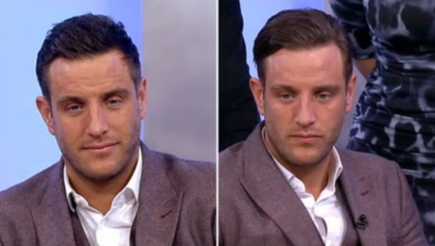 TOWIE's Elliott Wright volunteered to get some extensions in their hair on ITV's This Morning on Wednesday (22 January).