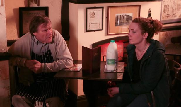 Corrie, Fiz confronts Roy, Mon 27 Jan