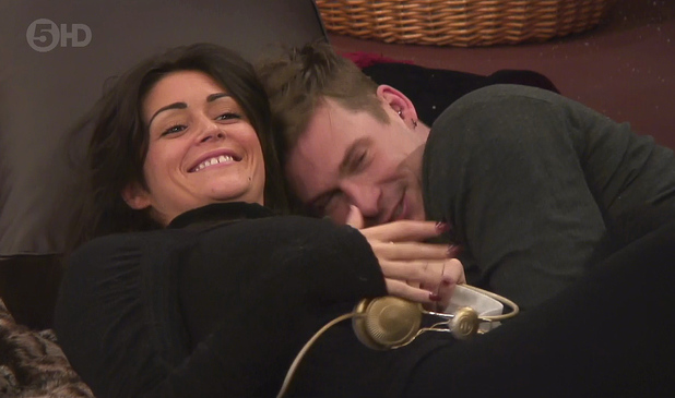 Celebrity Big Brother, shown on Channel 5 HD Lee Ryan and Casey Batchelor (21 January 2014).