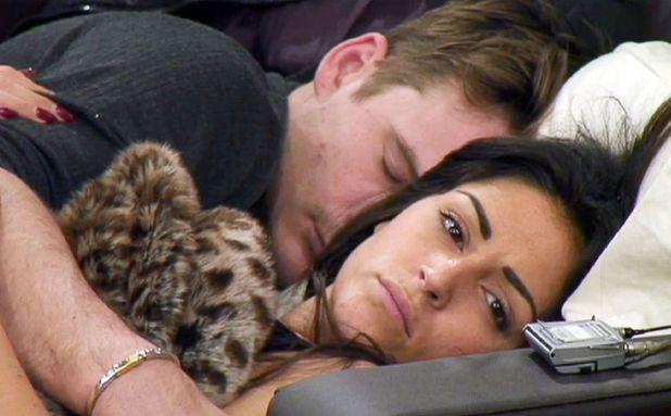 Celebrity Big Brother' TV show, Elstree Studios, Hertfordshire, Britain - 21 Jan 2014 Lee Ryan and Casey Batchelor in bed