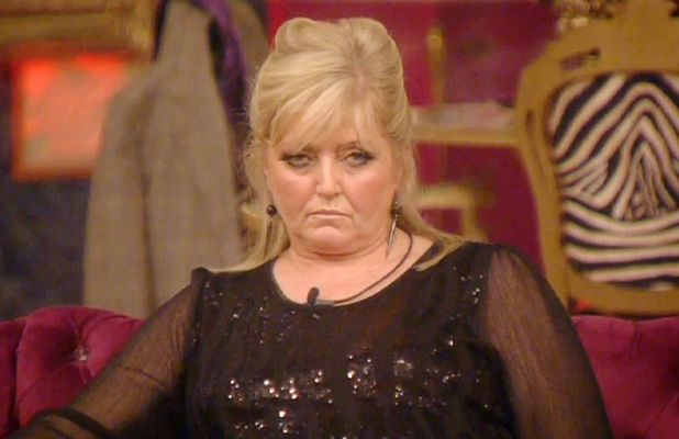 Linda Nolan in the CBB house, January 2014