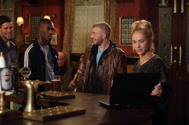 EastEnders, Nancy humiliates Wayne, Thu 23 Jan