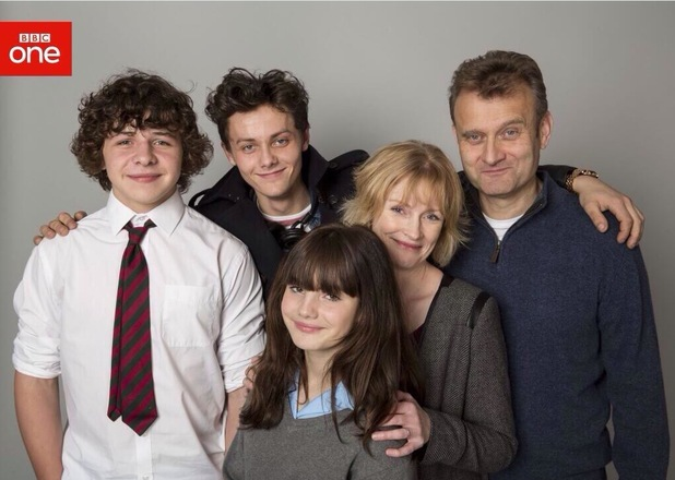 Outnumbered star Ramona Marquez - Karen - has a new look as show returns for fifth series - 21 Jan 2014