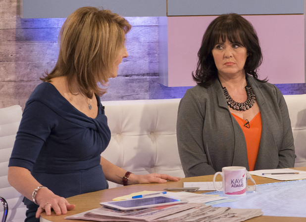 Coleen Nolan appears on 'Loose Women' TV Programme, London, Britain. - 20 Jan 2014