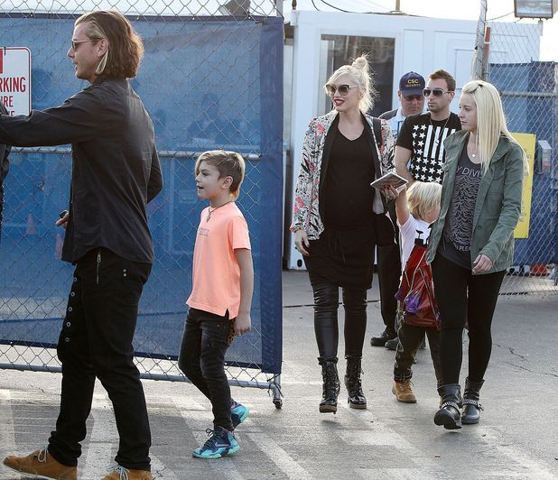 Gwen Stefani and Gavin Rossdale out about about, Los Angeles, America - 19 Jan 2014
