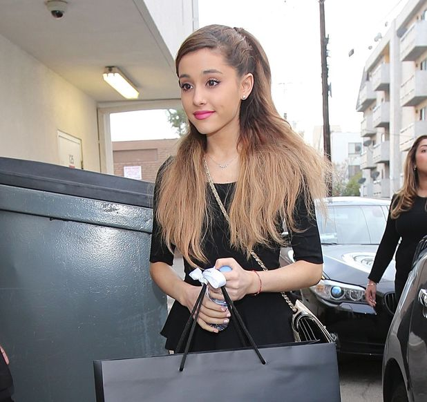 Ariana Grande leaving Chanel Boutique with her mum - 18.1.2014