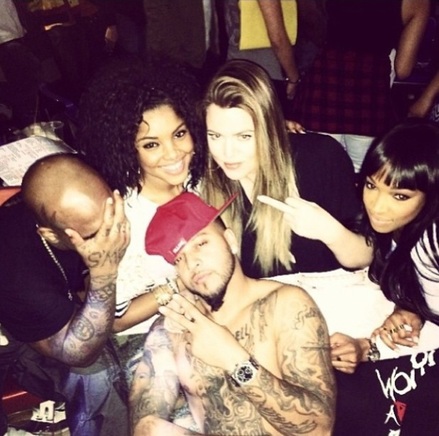 The Robin Hood Project Celebrity Bowling Tournament hosted by The Game at Pinz Bowling Khloe Kardashian, Malika Haqq